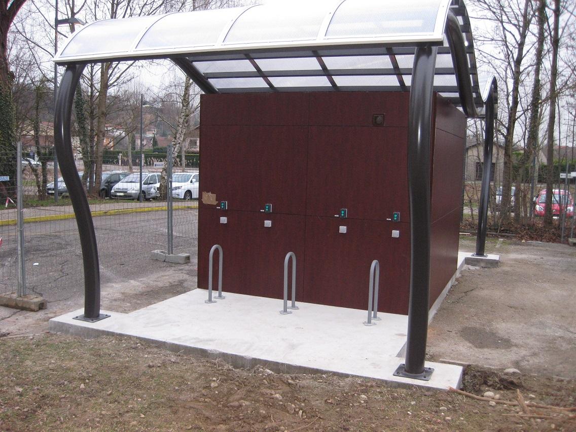 Construire Un Abri A Velo abris à vélos électriques pour la capi (isère)