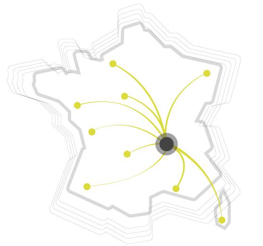 Carte livraison France entière