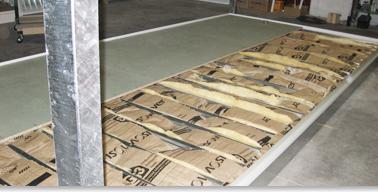 Batiment modulaire bungalows de chantier plancher sur mesure - Creer un plancher dans des combles ...