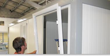Menuiseries construction modulaire