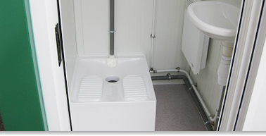 Sanitaires modulaires