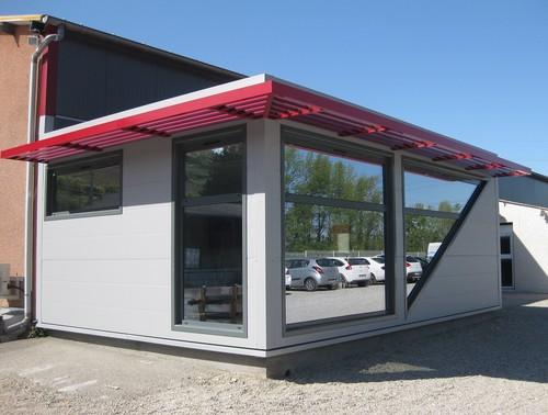 Extension bâtiment modulaire salle de réunion