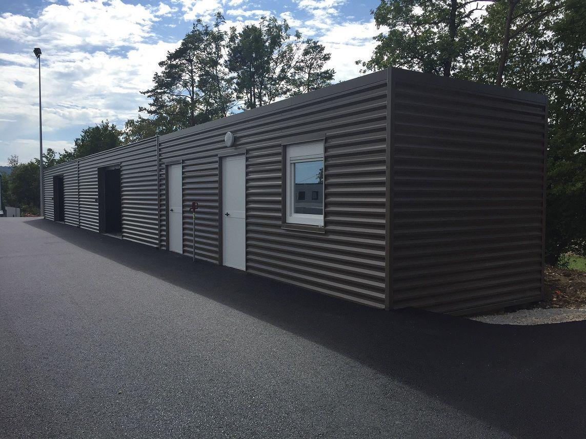 Extension bureaux modulaires