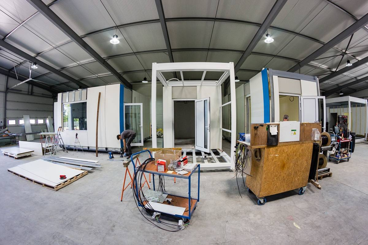 Atelier fabrication modulaire