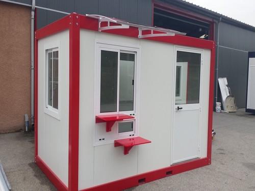 Bureau de vente modulaire pour la grande distribution