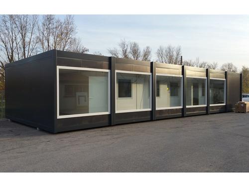 Bureau modulaire installé en Seine-et-Marne