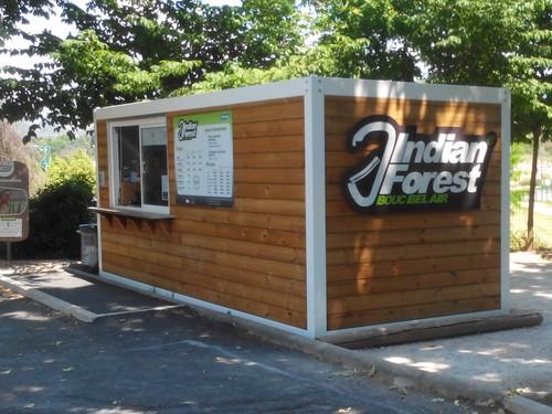 Guichet modulaire pour l'ouverture d'un parc accrobranche en PACA