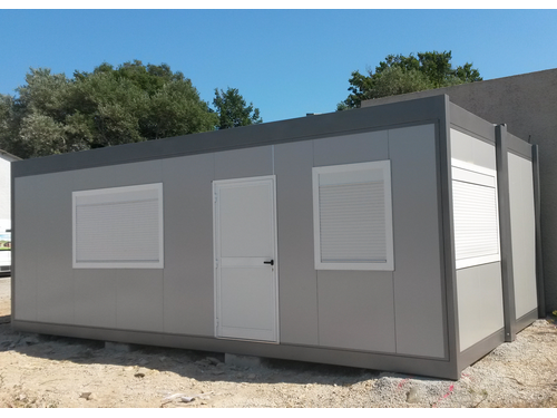 Foyer D Urgence Salon De Provence : Réalisation d un bureau modulaire en urgence à salon de
