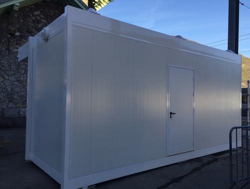 am nagement d un point de contr le des douanes en modulaire pour les d parts de l eurostar. Black Bedroom Furniture Sets. Home Design Ideas
