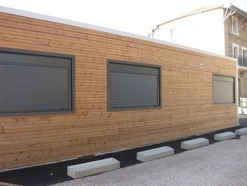 Construction d'un cabinet médical préfabriqué en Isère
