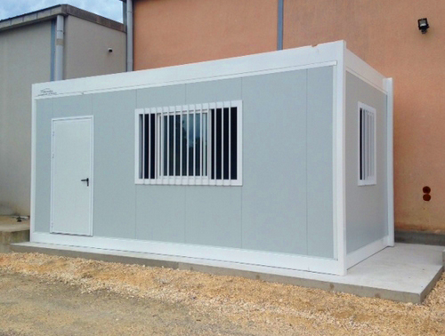 Construction d'un réfectoire modulaire pour un domaine viticole à Sancerre