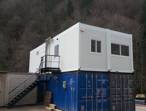 Construction de bureaux modulaires pour la Haute-Savoie