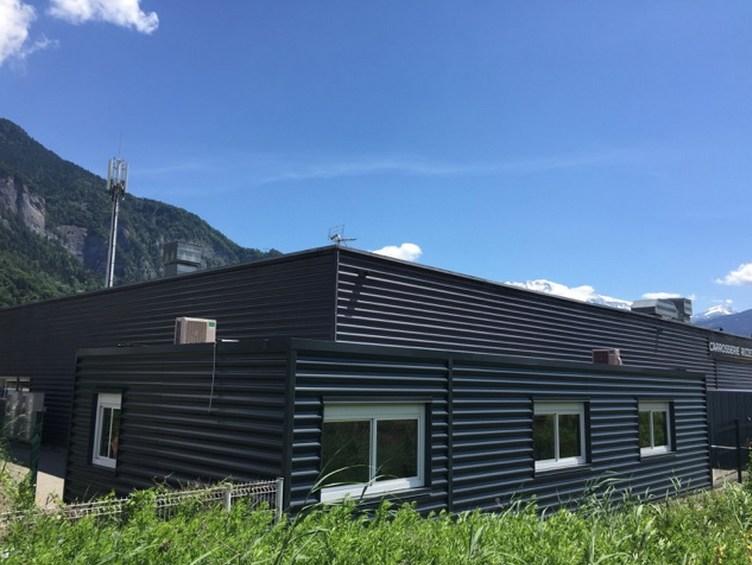Création d'un réfectoire modulaire avec espace de détente en Haute-Savoie