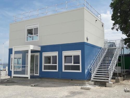 Extension de la base nautique de Tholon en bâtiments modulaires
