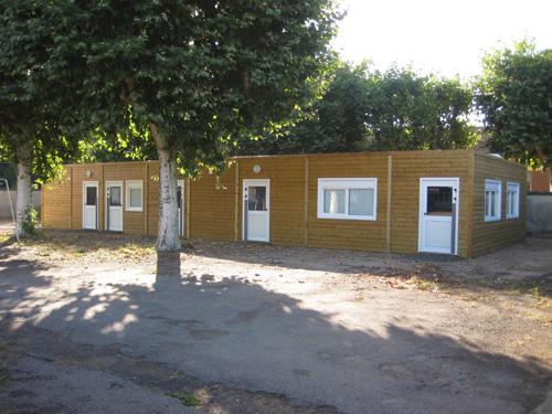 Le groupe scolaire MATEL à Roanne fera peau neuve à la rentrée avec un réfectoire préfabriqué RT 2012