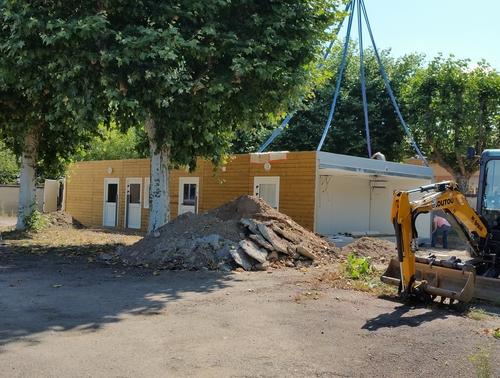 Le groupe scolaire matel roanne fera peau neuve la for Construction rt 2012