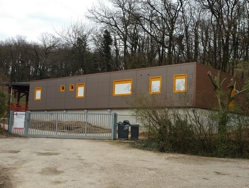 Construction d un b timent modulaire pour un centre de loisirs portes les valence - Aire de porte les valence ...