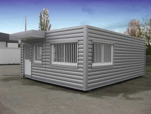 Bâtiment modulaire à usage de local gardien pour la déchèterie de Valence le Haut