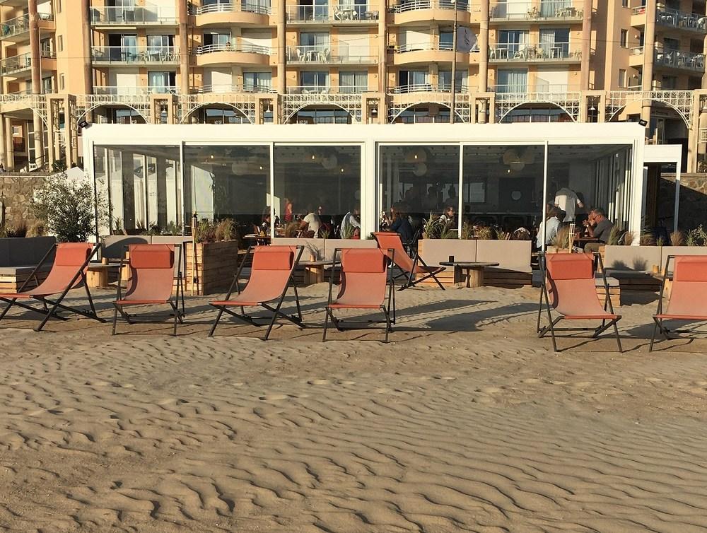 Construction restaurant de plage démontable à Pornichet