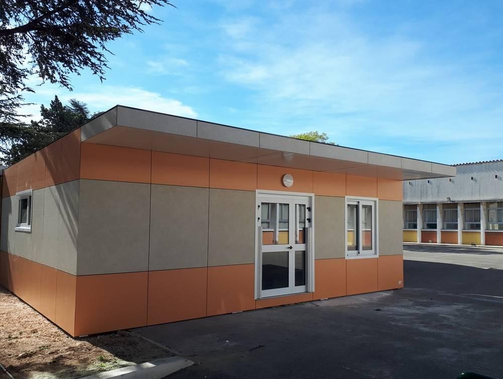 Extension d'un restaurant scolaire dans les Bouches-du-Rhône