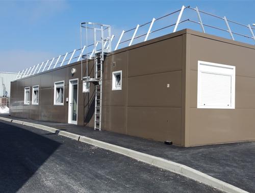 Fourniture et installation d'un bâtiment modulaire dans les Bouches-du-Rhône