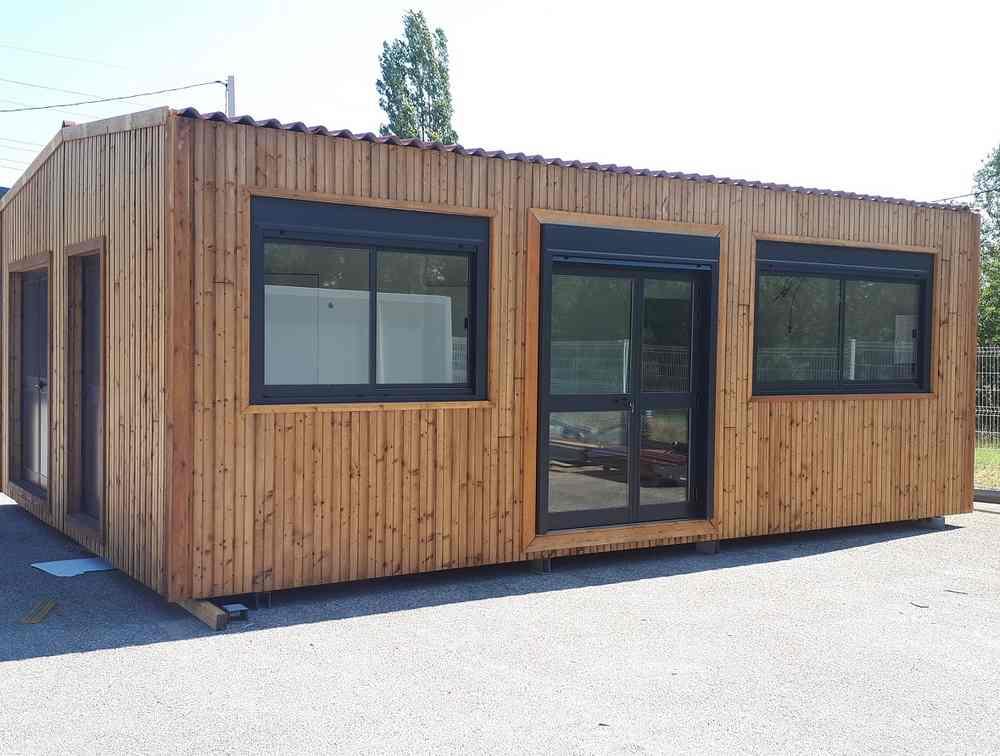 Local modulaire pour l'association de Surf de la ville de Seignosse