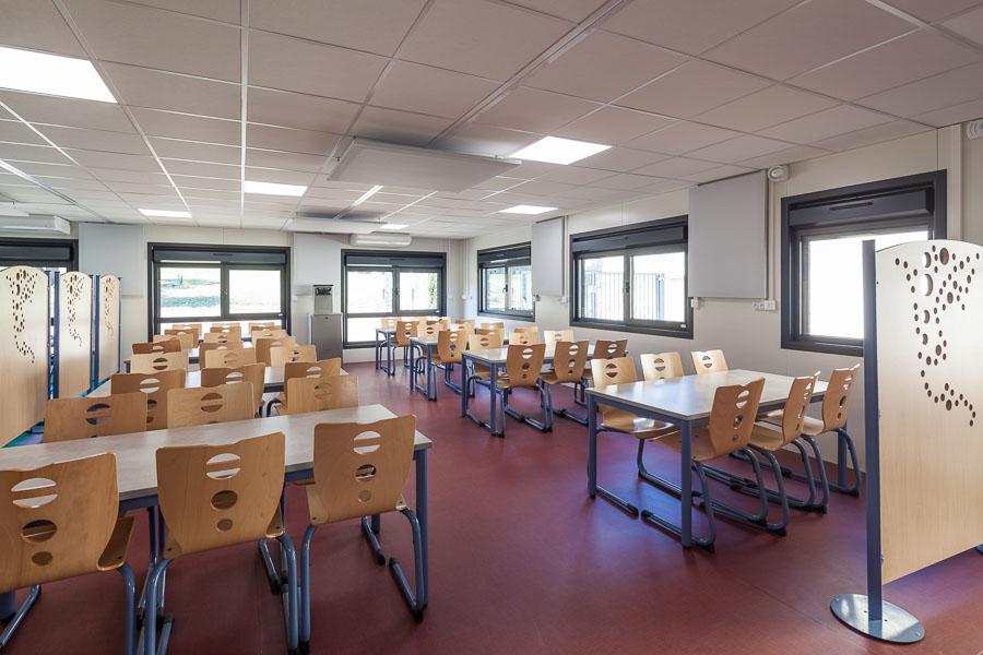 Restaurant scolaire préfabriqué pour une école à Givors
