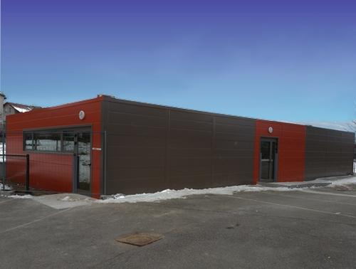 Salle de classe modulaire et sanitaires préfabriqués pour l'école de Valleiry