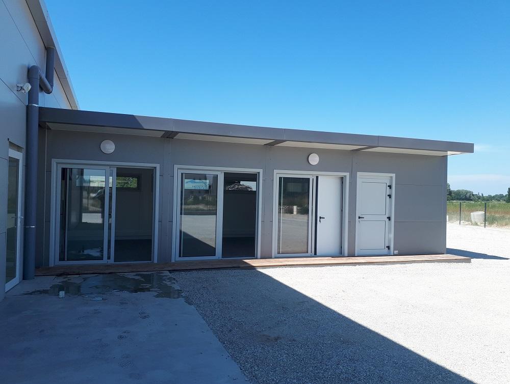 Création de bureaux modulaires à Beaumont-lès-Valence