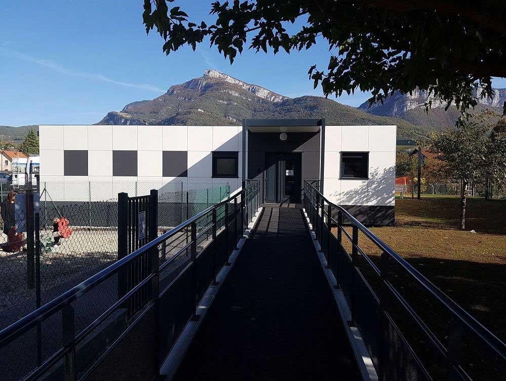 Construction d'une structure modulaire multi accueil pour la petite enfance en Savoie