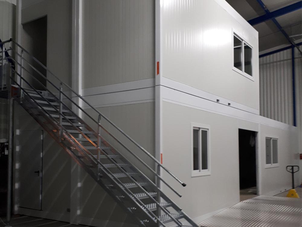 Un local préfabriqué pour la nouvelle agence KILOUTOU à St Jean de Maurienne
