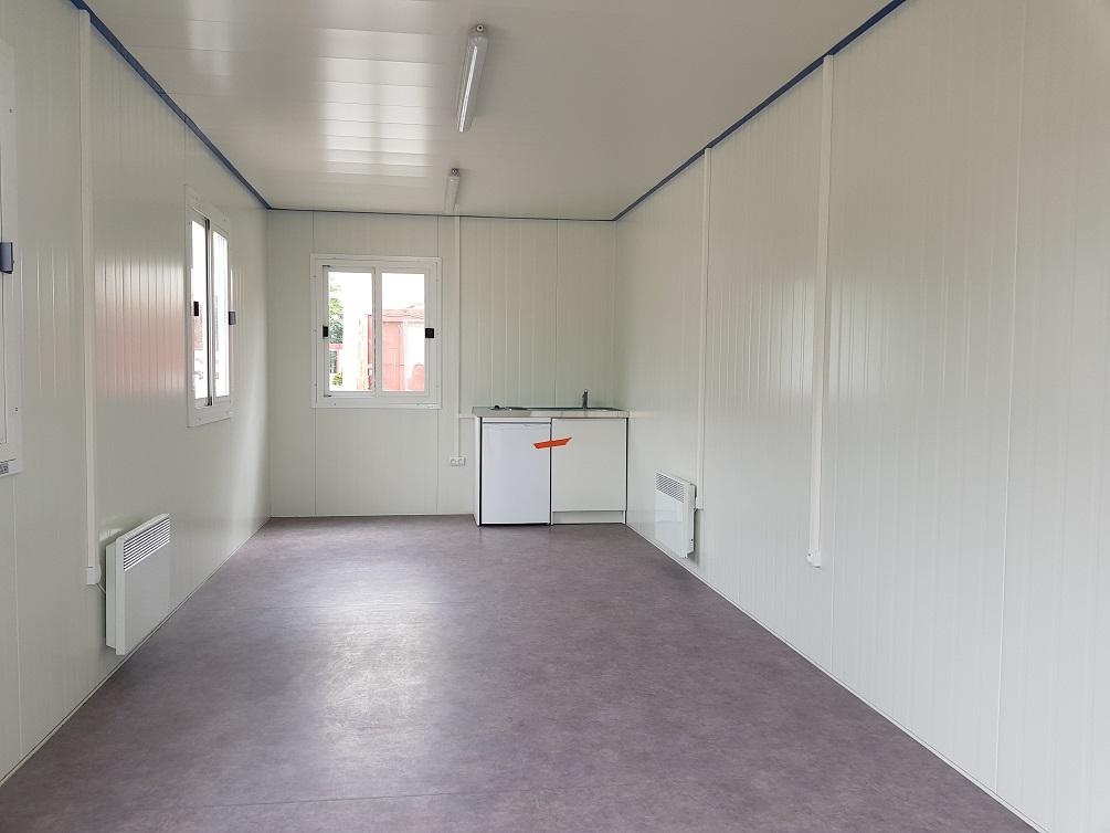 Construction et installation d'un réfectoire d'entreprise modulaire à Annecy