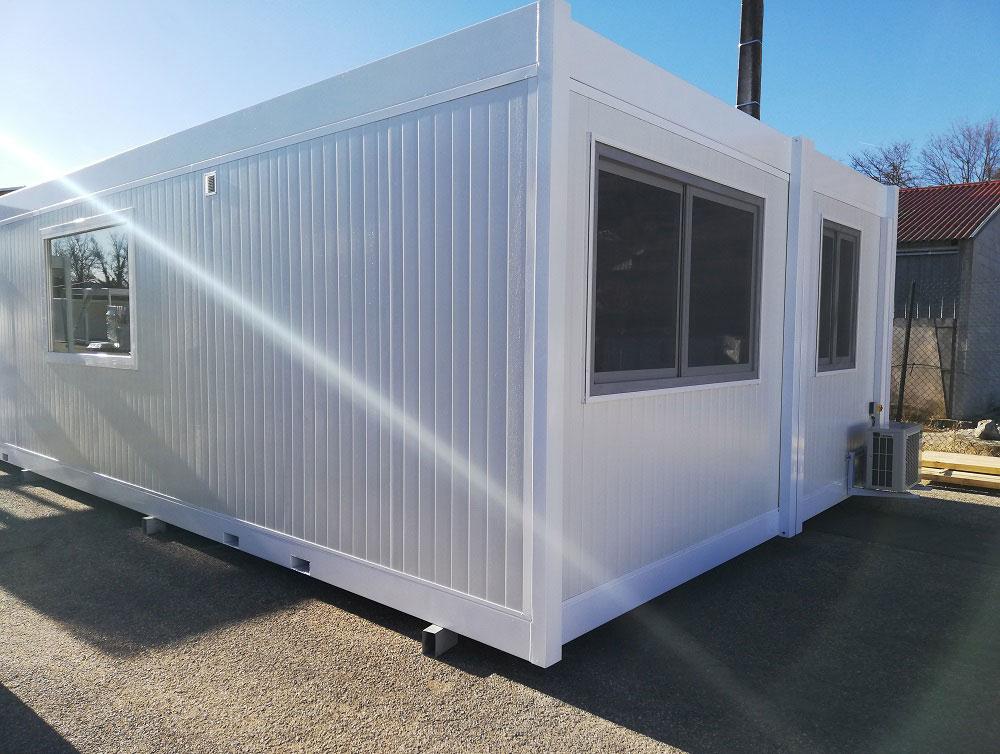 Construction d'un laboratoire modulaire pour la transformation du lait dans un élevage caprin