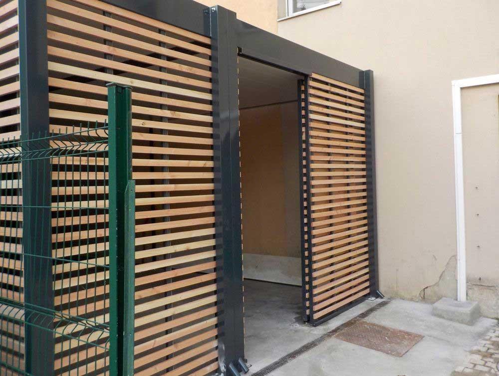 Installation d'un abri à vélos modulaire pour une Communauté de Communes dans l'Isère