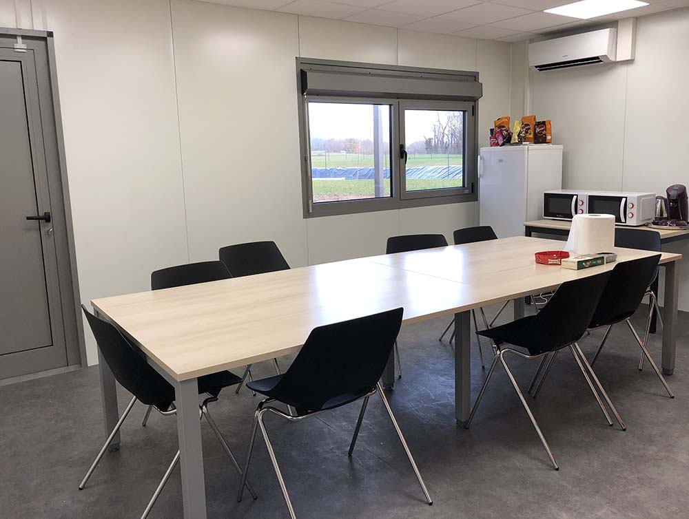 Conception et installation de nouveaux bureaux en Isère