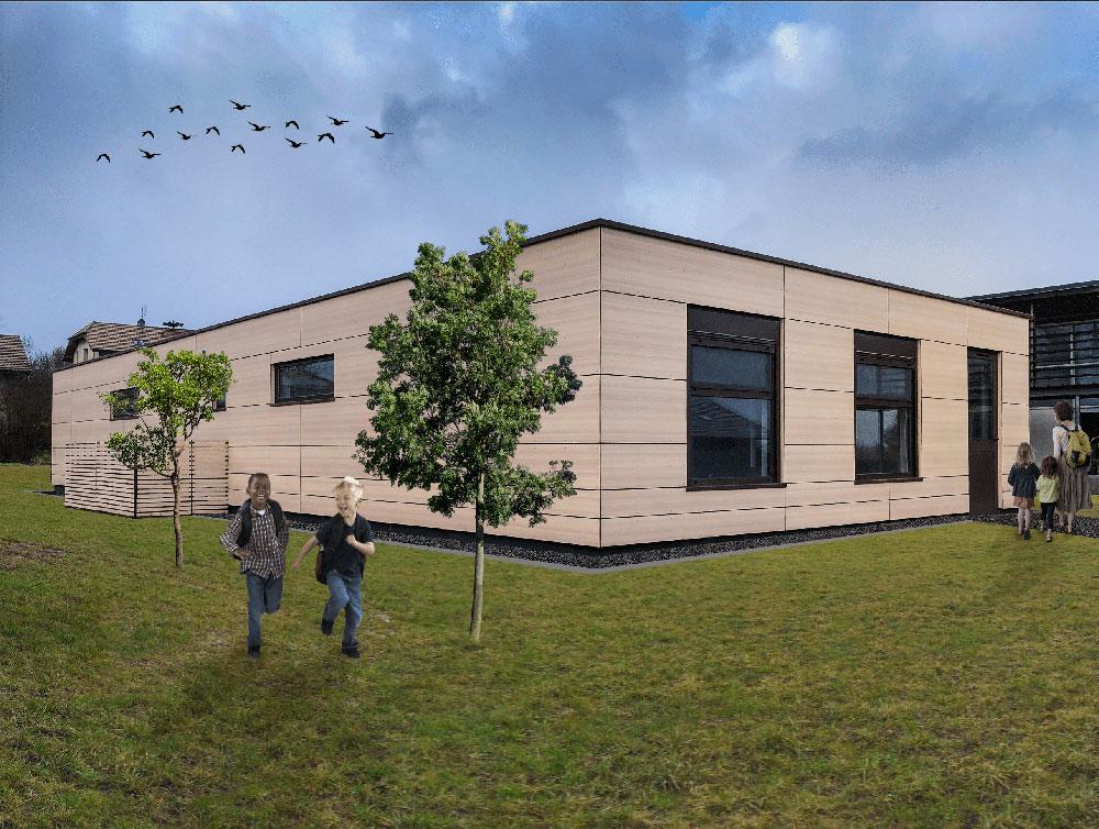 Construction de salles de classe en Haute-Savoie