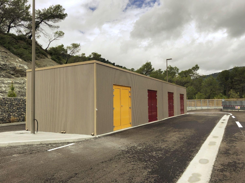 Création d'un local de déchets spécifiques, d'un poste de garde et d'un poste de pesé pour une déchèterie (06)