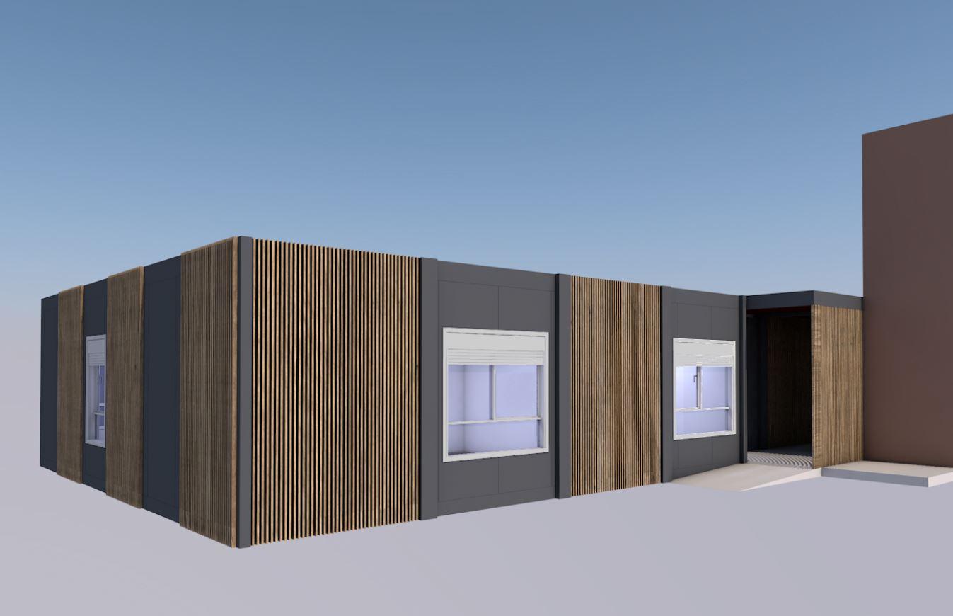 Création de bureaux en rez-de-chaussée (84)